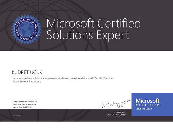 MCSE-Microsoft-Certified-Solutions-Expert